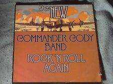 "12"" LP Record. Comander Cody. 1977 Artista Records AL 4125."