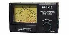 Workman HP202S CrossNeedle 1000 Watt SWR Power Watt Meter