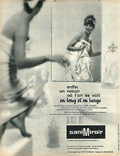 PUBLICITE  1963   SANI MIROR    miroir