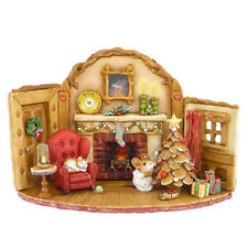 "Wee Forest Folk M-510 ""Home at Christmas """