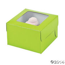 12 LIME CUPCAKE TREAT BOXES GIFT PARTY FAVORS BAKE SALE DESSERT NEW FUNDRAISER