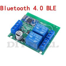DIYmall  2 Channel Relay Module Bluetooth 4.0 4.1 BLE for Apple Android Phone