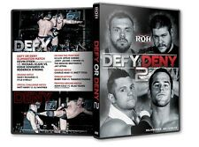 ROH Wrestling: Defy or Deny II DVD, Eddie Edwards Kevin Steen Roderick Strong