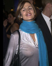CATHERINE BELL 8x10 PHOTO PICTURE PIC HOT SEXY SEE THROUGH SHIRT CANDID 52