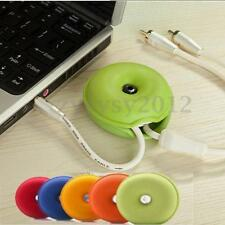 Turtle Winder Wrap Cable Wire Earphone USB Charger Cord Holder Organiser Secure