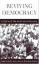 Reviving Democracy: Citizens at the Heart of Governance, Economic Policy & Devel