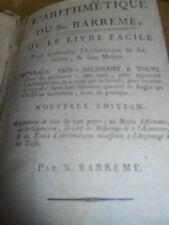 livre d'arithmétique 1797  ( ref 3 )