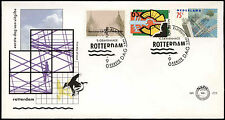 Netherlands 1990 Bombing Of Rotterdam FDC First Day Cover #C27963