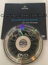 OEM 2012 Update 2001 2002 Acura MDX Touring GPS Navigation Black DVD Map v 2.90