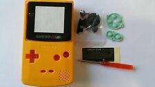 CARCASA COMPLETA+PANTALLA COMPATIBLE GAME BOY COLOR YELLOW NEW/NUEVO