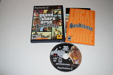 Grand Theft Auto San Andreas M Version Playstation 2 PS2 Video Game Complete