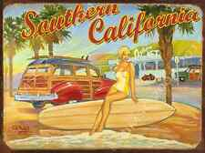 Neptune's Net Metal Sign,Retro California Beach, Surfing, Vintage Coastal Decor