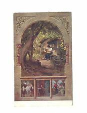 UK, Brother and Sister, Fairy tale, Brothers Grimm, German postcard, 1918