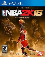 PS4 NBA 2K16 Michael Jordan Special Edition Brand New with Factory Sealed rare