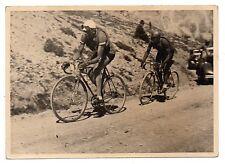 U095 Photographie vintage Originale cyclisme Tour de France Col de l'Izoard 1935