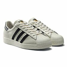 ADIDAS ORIGINALS SUPERSTAR 80s DELUXE MENS SHOES SIZE US 13 VINTAGE WHITE B25963