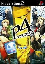 Used PS2 P4 Persona 4  SONY PLAYSTATION JAPAN IMPORT