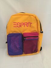 Vintage Esprit Book Bag Colorful NWT