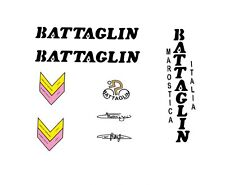 Battaglin vélo stickers, transferts, des stickers-noir N. 10