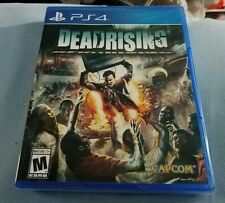DEADRISING ZOMBIES PLAYSTATION 4 PS4 RETAIL GAME SONY FACTORY SEALED BRAND NEW