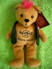 HRC Hard Rock Hotel Punta Cana Punk Bear Mohawk 2010 Pink Hair Herrington
