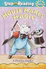 Mouse Makes Magic: Phonics Reader (Step-Into-Reading, Step 2) by Kathryn Heling,