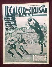 Il calcio e il ciclismo illustrato 1955 n°39 Novara-Napoli, Torino-Bologna  23/6