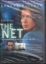 The Net. Intrappolata nella Rete DVD Sandra Bullock Sigillato 8013123394200