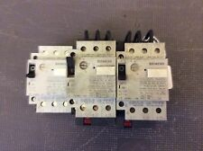 3-Siemens contactor, #3VU1300-1MH00, 2 have bases, 30 day warranty, free ship
