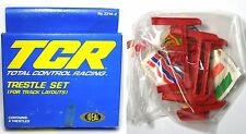 1977 Ideal Toys TCR HO Slot Car Track Layout TRESTLE SET Total Control Racing