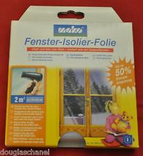 Isolierfolie Fensterfolie 50% Sparen Thermo Cover Mako 131x153