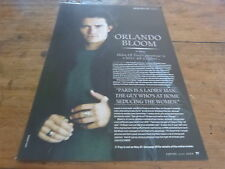 ORLANDO BLOOM - Mini poster - article !!! UK !!! 2 !!!