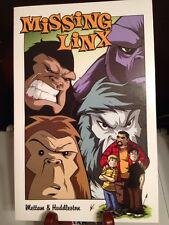 Missing Linx comicbook, graphic novel skunk ape, bigfoot, yeti, sasquatch ~NEW~