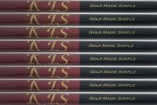 8 R/S REGULAR FLEX or STIFF GRAPHITE IRON SHAFTS 370 Parallel 69g HI LAUNCH