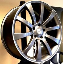 """18""""riva grey Alloy Wheels- Volvo /LandRover Evoq-Ford-Jaguar-with tyres"""