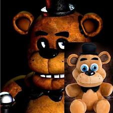 "Hot FNAF Five Nights at Freddy's Sanshee Freddy Plushie Bear Plush Toy 10"" K"