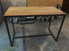 Meuble industriel table mange debout sur mesure loft tendance vintage