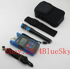 10mW Visual Fault Locator Fiber Optic Cable Tester + TL510 Optical Power Meter