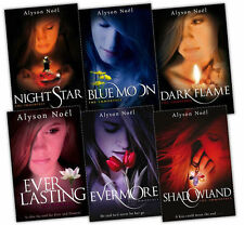 The Immortals Series Collection Alyson Noel 6 Books Set Everlasting, Dark Flame