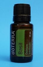 doTERRA BASIL Essential Oil - 15 ML - Factory Sealed Bottle