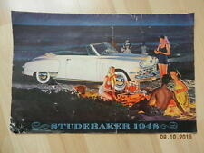 catalogue STUDEBAKER Champion & Commander & Land Cruiser1948