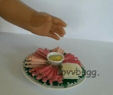 """Party Tray Cold Cuts+Cheese for 18"""" American Girl Doll Food  Lovvbugg Selection!"""