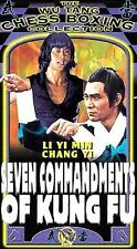 Seven Commandments of Kung Fu [VHS] Chung-Kuei Chang, Yi Chang, Kuo Chung Ching