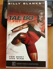 BILLY BLANKS - TAE BO FLEX - FOR BODY AND MIND - VHS