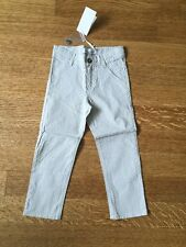 NWT Tartine Et Chocolat Boys Pin Striped Slim Pants. 4A
