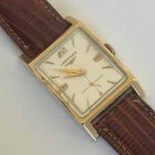 LONGINES 14 KT SOLID GOLD MENS WATCH GREAT CONDITION‼️‼️‼️