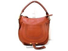 Authentic Chloe Brown Marcie Shoulder Bag w/ Dust Bag and Guarantee