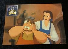BEAUTY AND THE BEAST lobby card/still #5 WALT DISNEY