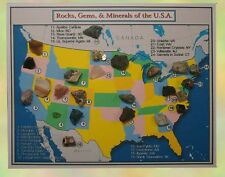 Rocks, Gems, & Minerals of the USA Collection - 24 Specimens w/ Sleeve