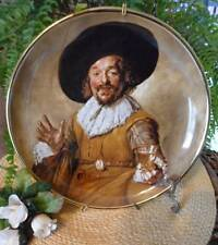 "Staffordshire England Lord Nelson Pottery Collectors Plate ""The Merry Drinker"""